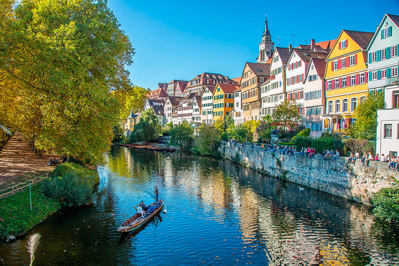 Экскурсии из Штутгарта на 1 день: Тюбинген