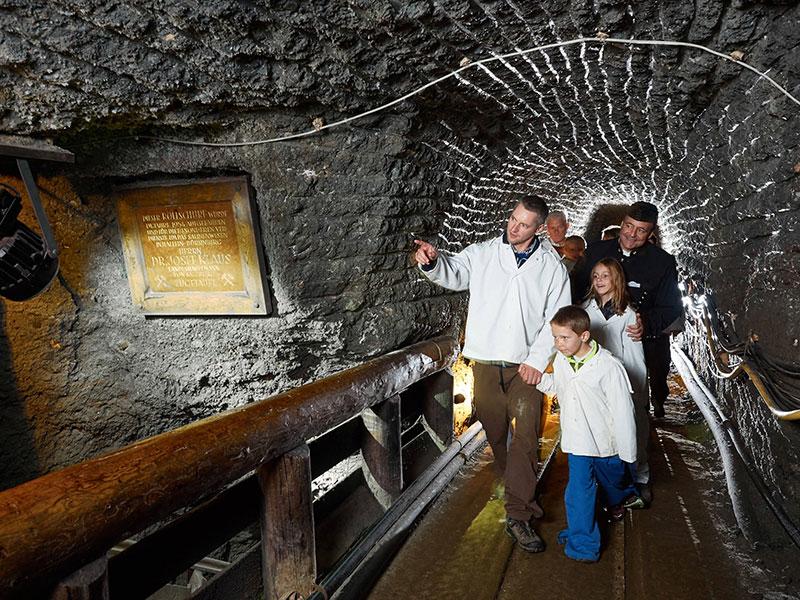 Пещера Халлайн, Зальцбург