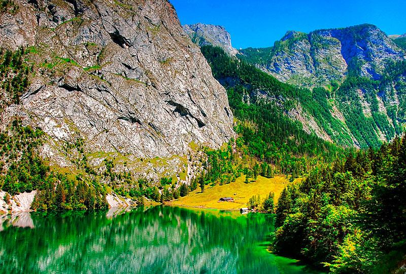 Экскурсии из Зальцбурга: озеро Верхнее в Берхтесгаден