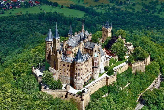 Куда поехать из Штутгарта: замок Гогенцоллерн