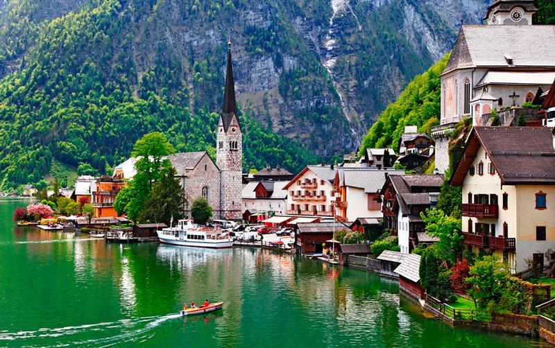 Озера Австрии для отдыха: Хальштеттер Зее