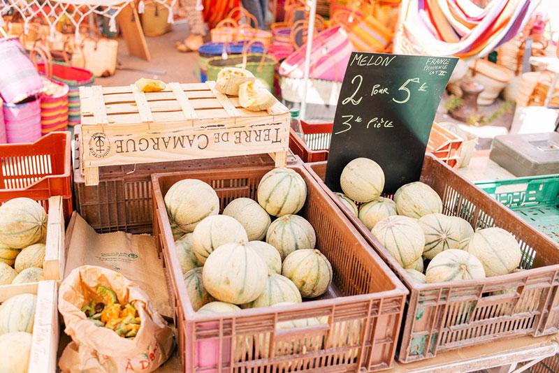 Фермерский рынок в Апте (Франция)