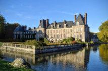 Замок Куранс (Château de Courances)