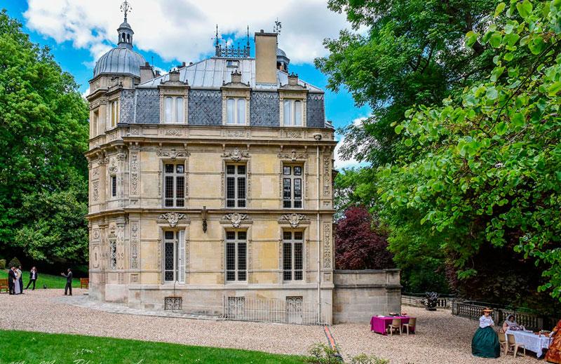 Замок Монте-Кристо (Château de Monte-Cristo) в Париже