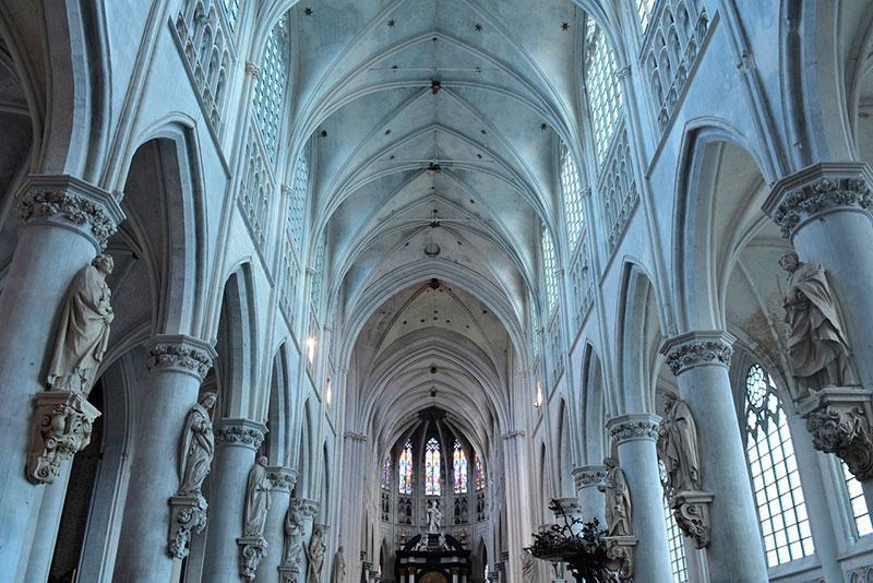 Кафедральный собор в Мехелене (Mechelen)