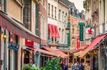 Экскурсии из Антверпена: торговая улица Брюсселя