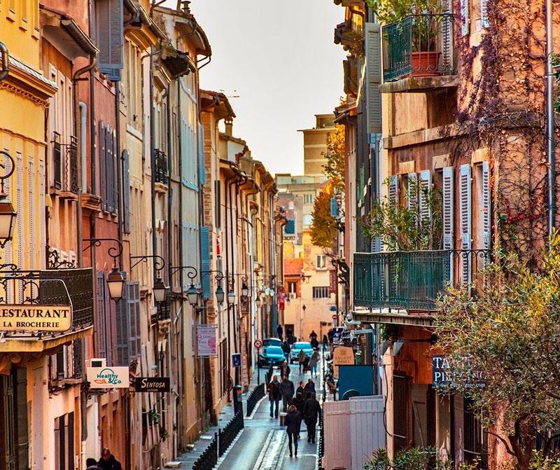 Старый город Экс-ан-Прованса (Франция)