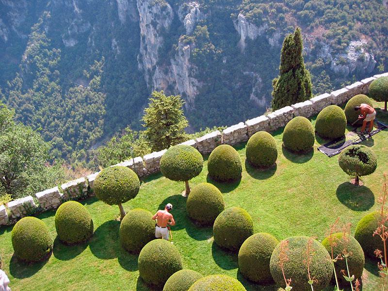 Итальянский сад в Гурдоне (Прованс, Франция)