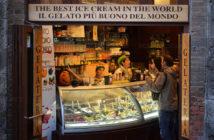 Экскурсии из Сиены: джелатерия в Сан-Джиминьяно