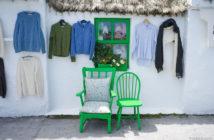 Сувениры из Ирландии: продажа шерстяных вещей