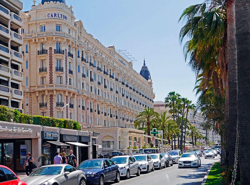 Отель Карлтон в Каннах (Франция) Курорты Франции Лучшые курорты  Франции morskie kurorty francii 1