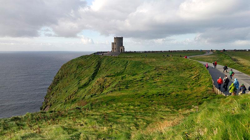 Башня О'Брайана (Скалы Мохер, Ирландия)