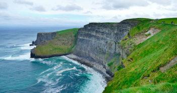 Как добраться до Утесов Мохер из Дублина / Голуэя