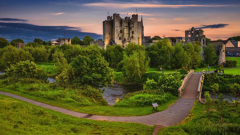 Замок Трим, Ирландия