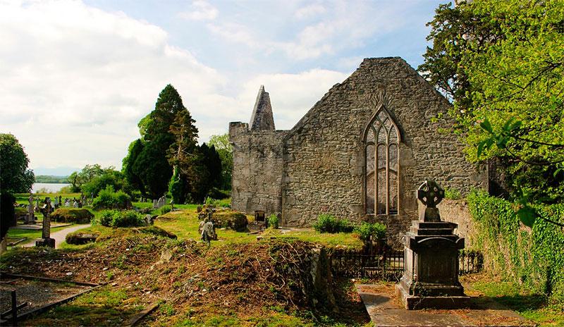 Монастырь Глендалох (Дублин, Ирландия)