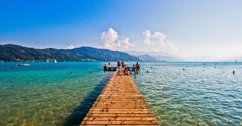 Австрийские озера для купания: Аттерзе