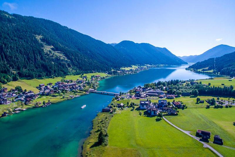 Озеро Вёртер-Зе (Каринтия, Австрия)