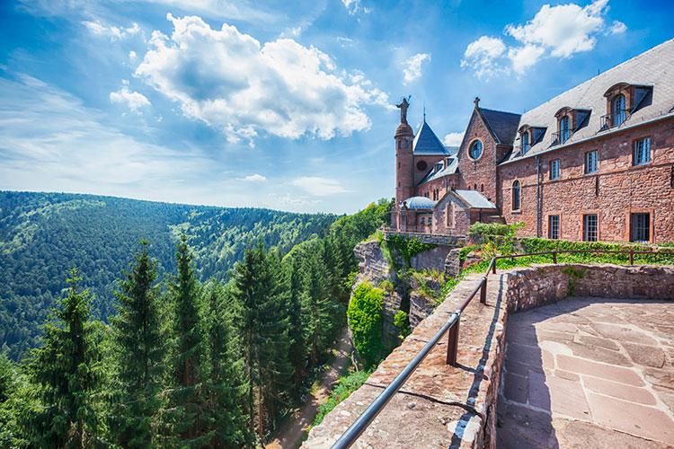 Монастырь Сент-Одиль (Эльзас, Франция) Винный маршрут Эльзаса Винный маршрут Эльзаса vinnaya doroga jelzasa 4