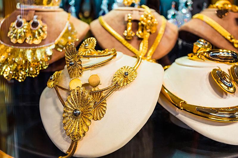Золото в Старом городе (Дубай, ОАЭ)
