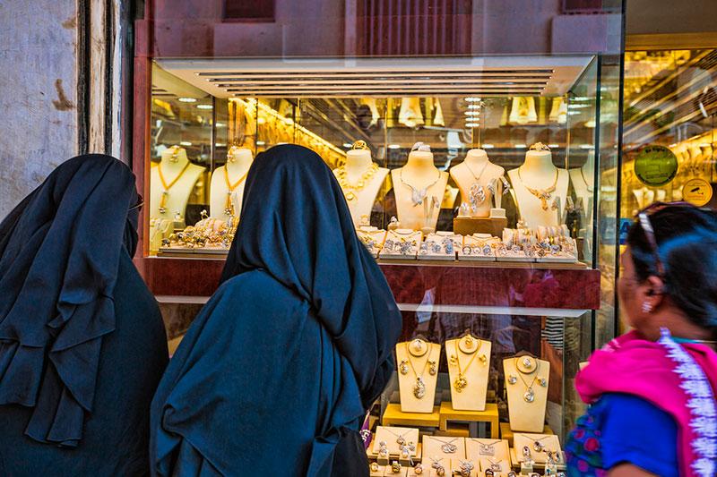 Рынок золота в Дубае, ОАЭ