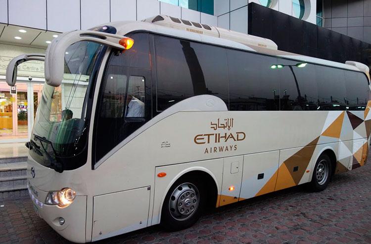 Бесплатный шаттл в Абу-Даби от Etihad и Emirates