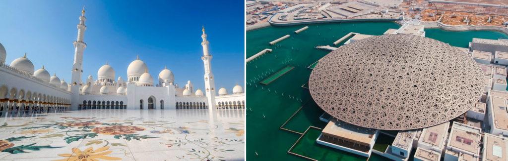 Экскурсия в Абу-Даби из Дубая: Лувр и мечеть
