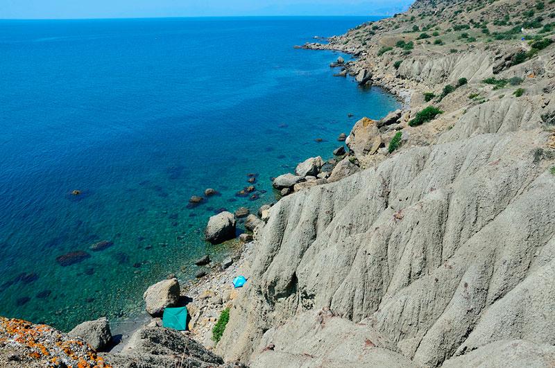 Интересные места в Судаке: полуостров Меганом