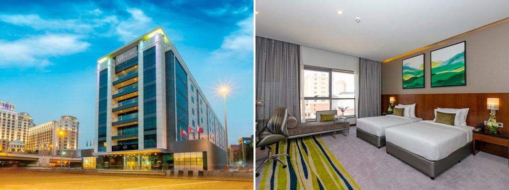 Отели Дубая у метро: Flora Al Barsha Hotel