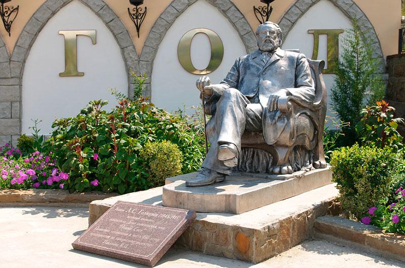 Памятник Князю Л.С. Голицыну в Новом свете, Крым