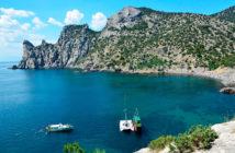 Достопримечательности Нового Света: Голубая бухта и Царский пляж