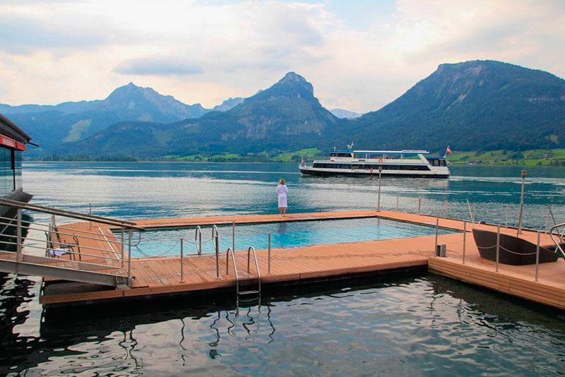Озера Австрии для купания: Вольфгангзе