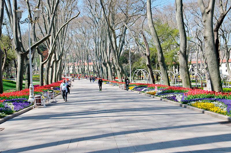 Парк Гюльхане (Стамбул, Турция)
