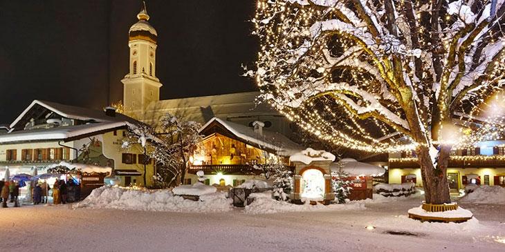 Рождественский базар в Гармиш-Партенкирхене