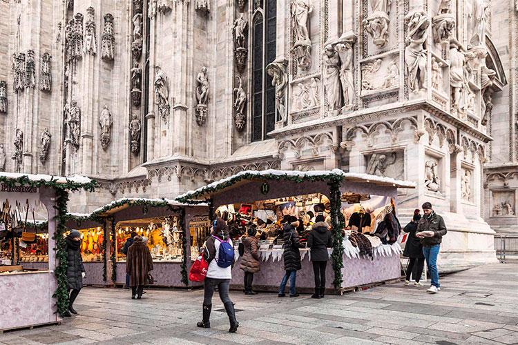 Зачем ехать в Италию зимой: ярмарка в Милане