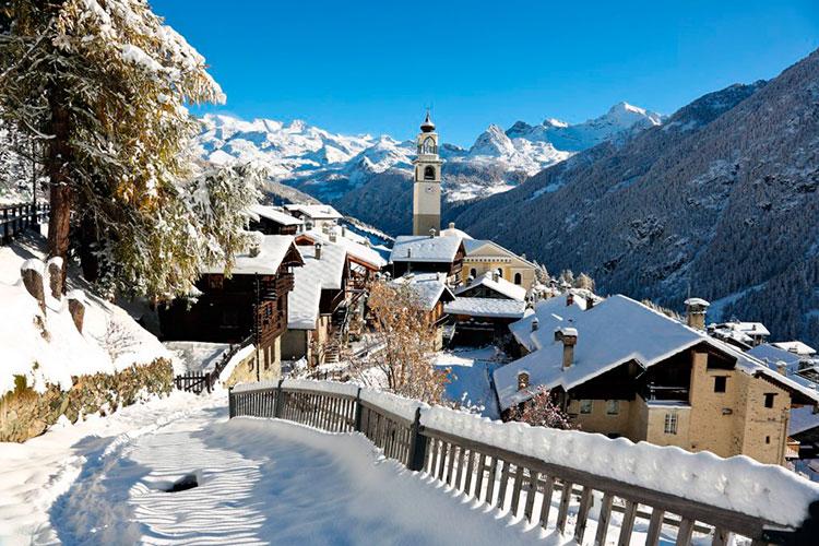 Куда поехать в Италии зимой: Альпы Турина