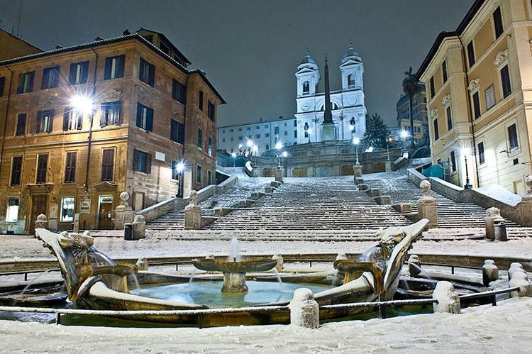 Италия зимой: что посмотреть в Риме