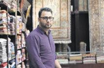 Магазин шалей и ковров в Абу-даби