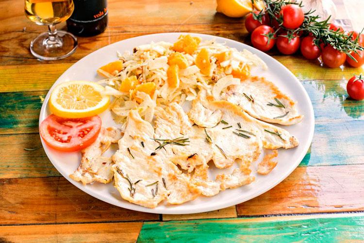 Еда в Тоскане: курятина с фенхелем