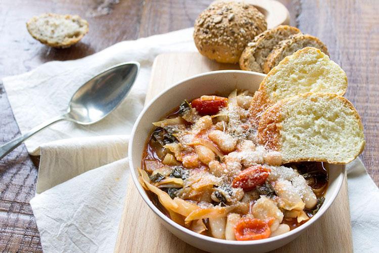 Еда во Флоренции: овощной суп ribollita