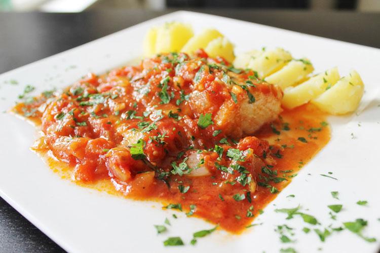 В ресторанах Флоренции: baccala alla fiorentina