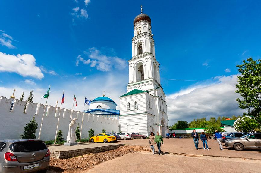 Раифский монастырь — еще одна интересная поездка из Казани