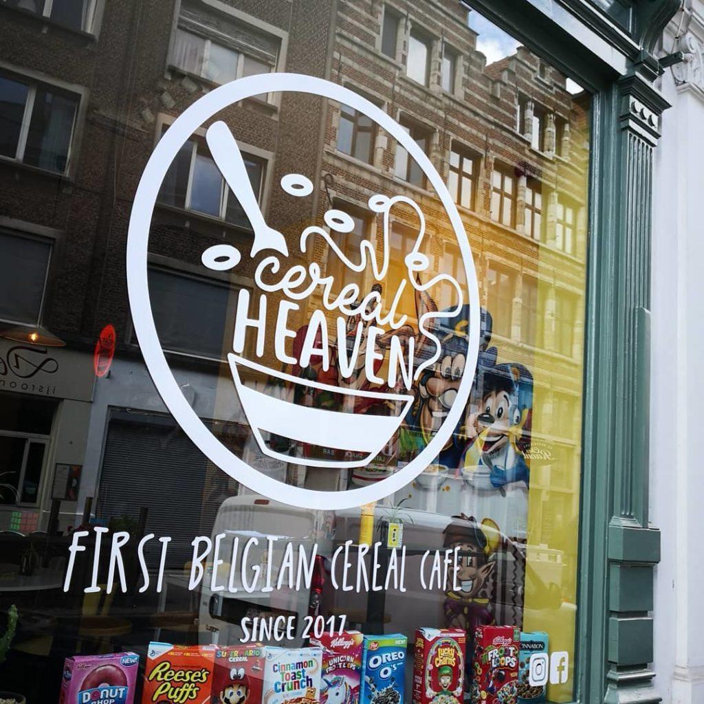 Где вкусно поесть в Антверпене: кафе Cereal heaven