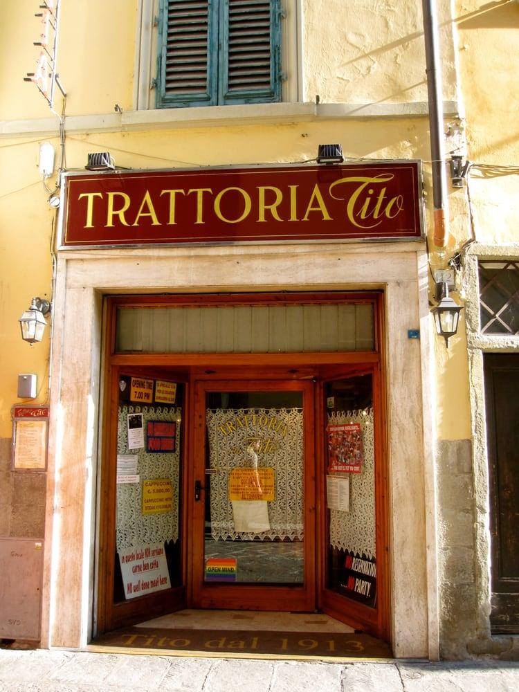Где поесть во Флоренции: Trattoria da Tito