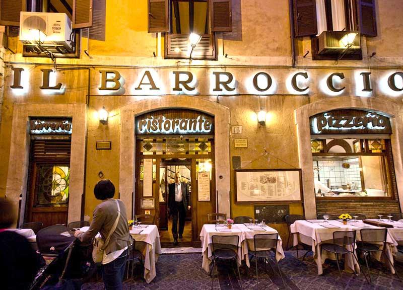 Где вкусно поесть во Флоренции: Il Barroccio