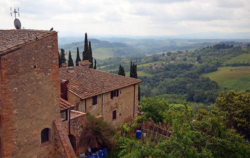 Вид на окрестности Монтепульчано, Тоскана