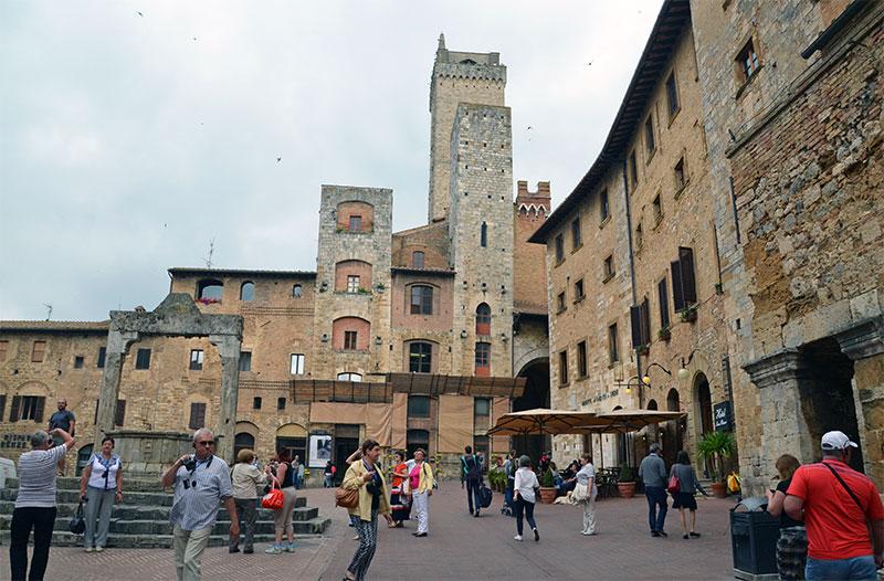 Из Флоренции на один день: Сан-Джиминьяно