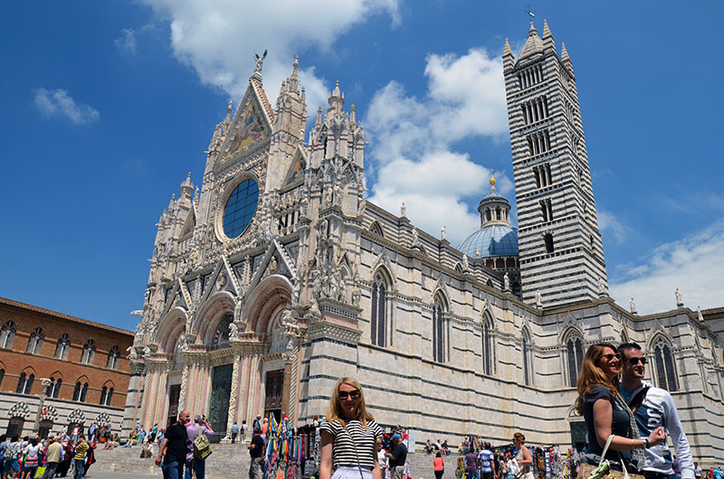 Куда съездить из Флоренции: Сиена