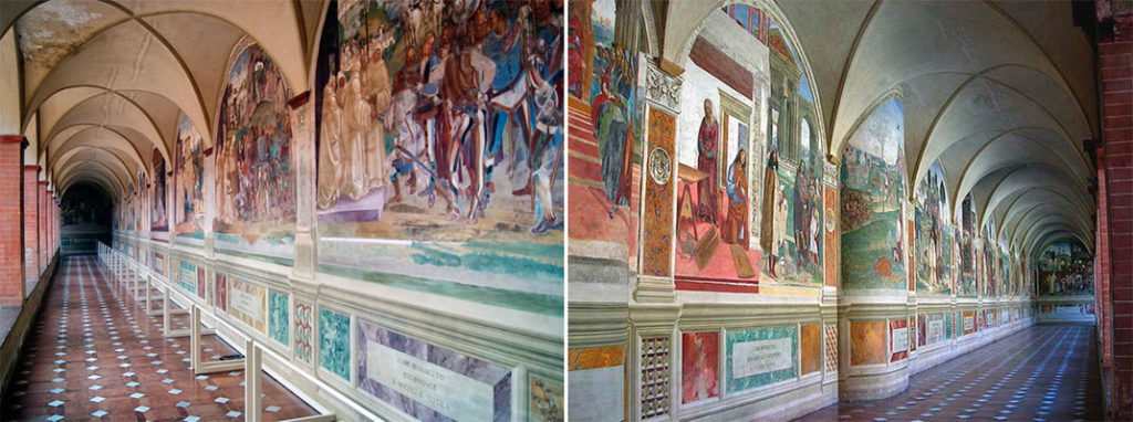 Экскурсии из Флоренции: Монте-Оливето-Маджоре
