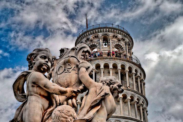 Пизанская башня (Пиза, Италия)