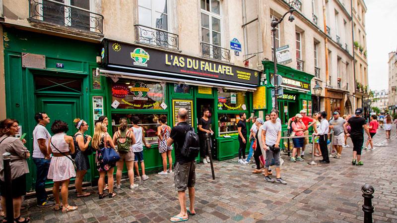 Еврейский квартал в Маре, Париж